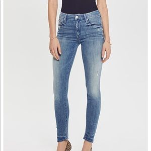 Mother The Looker graffiti girl size 29